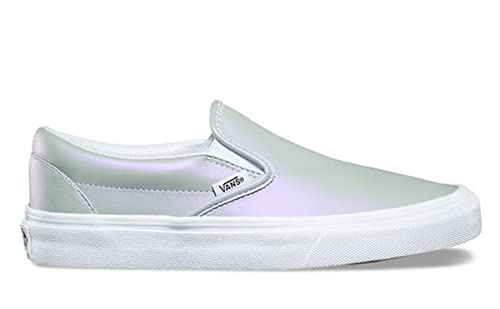 ee1bdc4bb48c Vans Classic Slip-On (Muted Metallic) Gray Violet Mens 6 Womens 7.5 ...