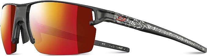 Julbo Men S Outline Sunglasses Black Transparent White M Bekleidung
