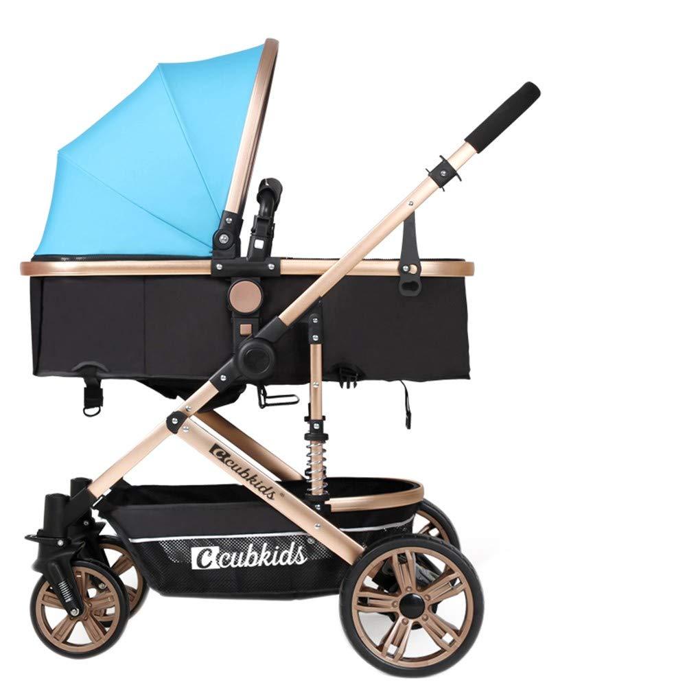 Carrozzina passeggino, alto paesaggio luce puo 'sedersi reclinabili piegare ammortizzatore quattro ruote bambini passeggino