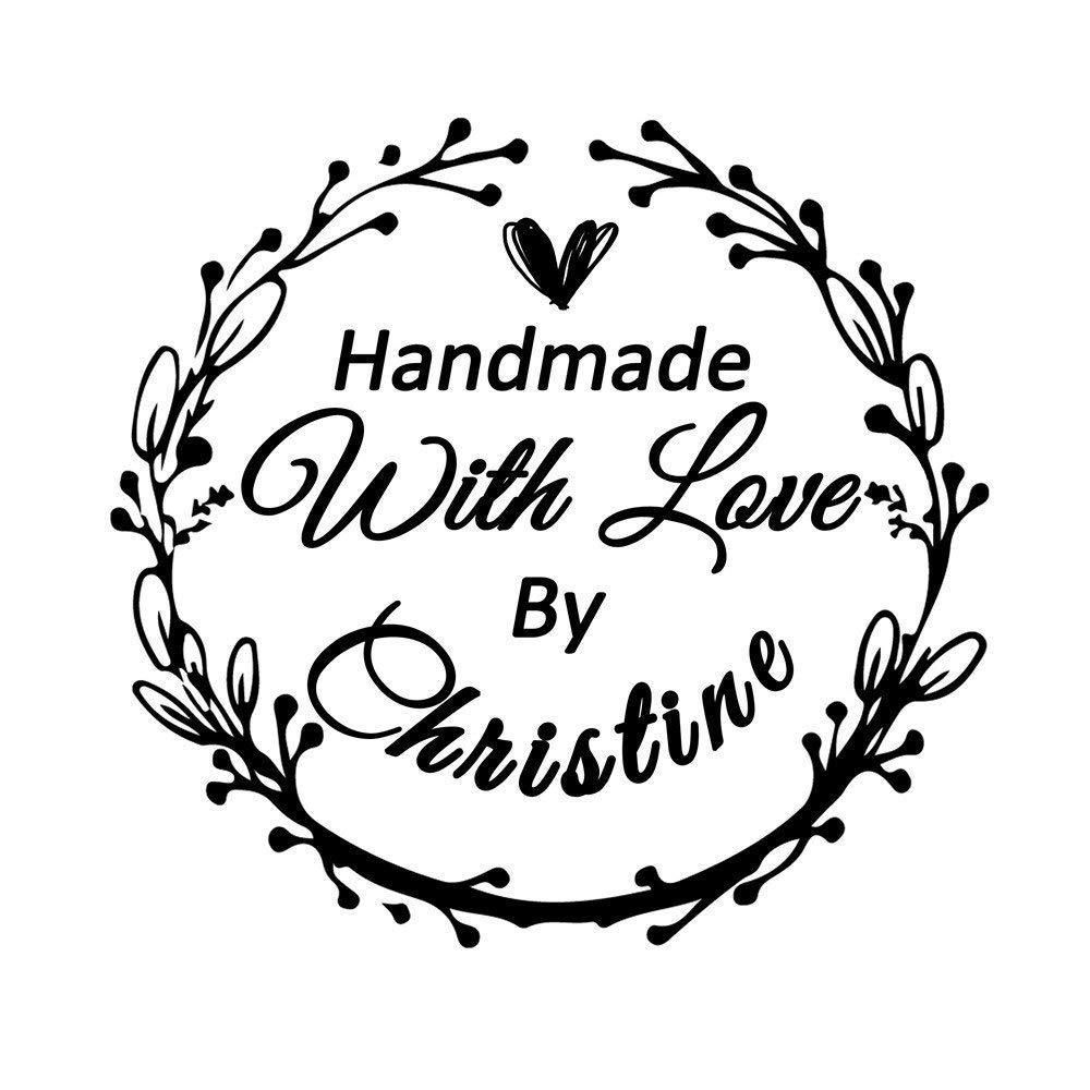 Amazon Com Wedding Business Stamper Personalized Custom