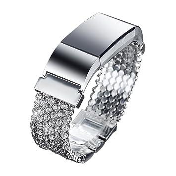 Amazon.com: fresheracc Bling Fitbit Charge 2 bandas, cadenas ...
