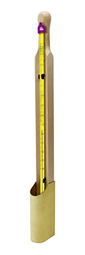 H-B Easy-Read Liquid-in-Glass Tank Thermometer 0 to 230F, 76mm Immersion, Environmentally Friendly B60380-0500