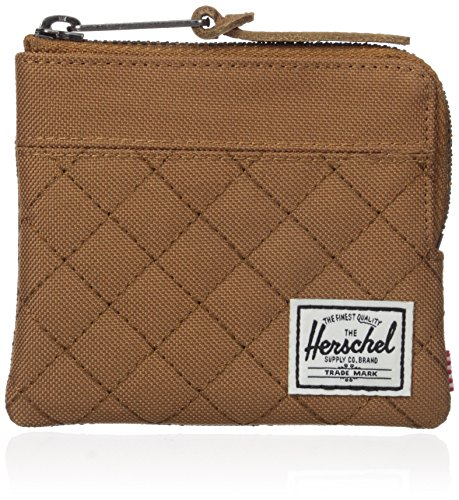 And 1 Quilted Wallet - Herschel Supply Co. Men's Johnny, Caramel Quilted, ONE SIZE