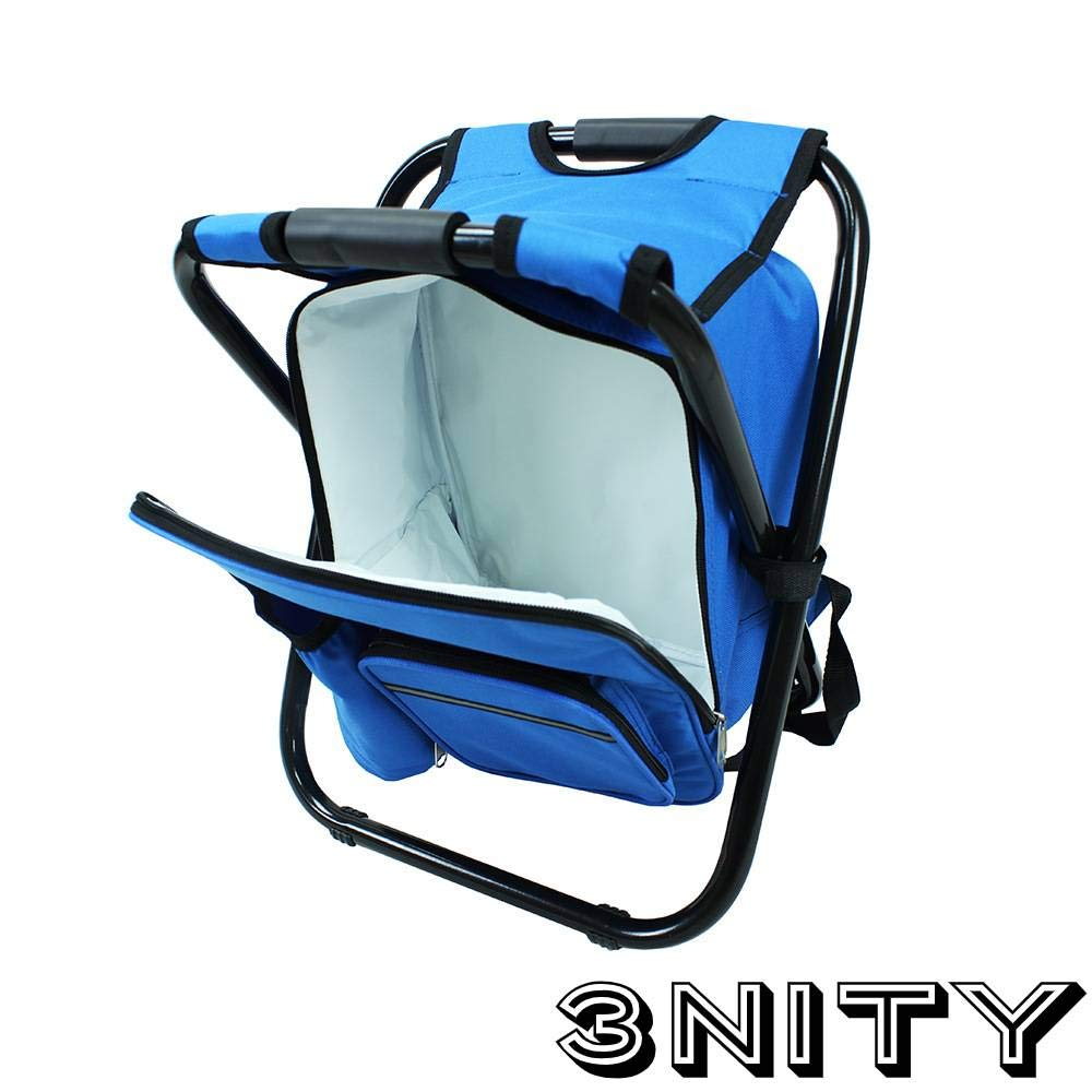 Camping Beach,Travel Hunting Festivals,Picnics Perfect for Outdoor Activities Folding Camping Chair Ultralight Backpack Cooler 3NITY Backpack Cooler and Stool Fishing