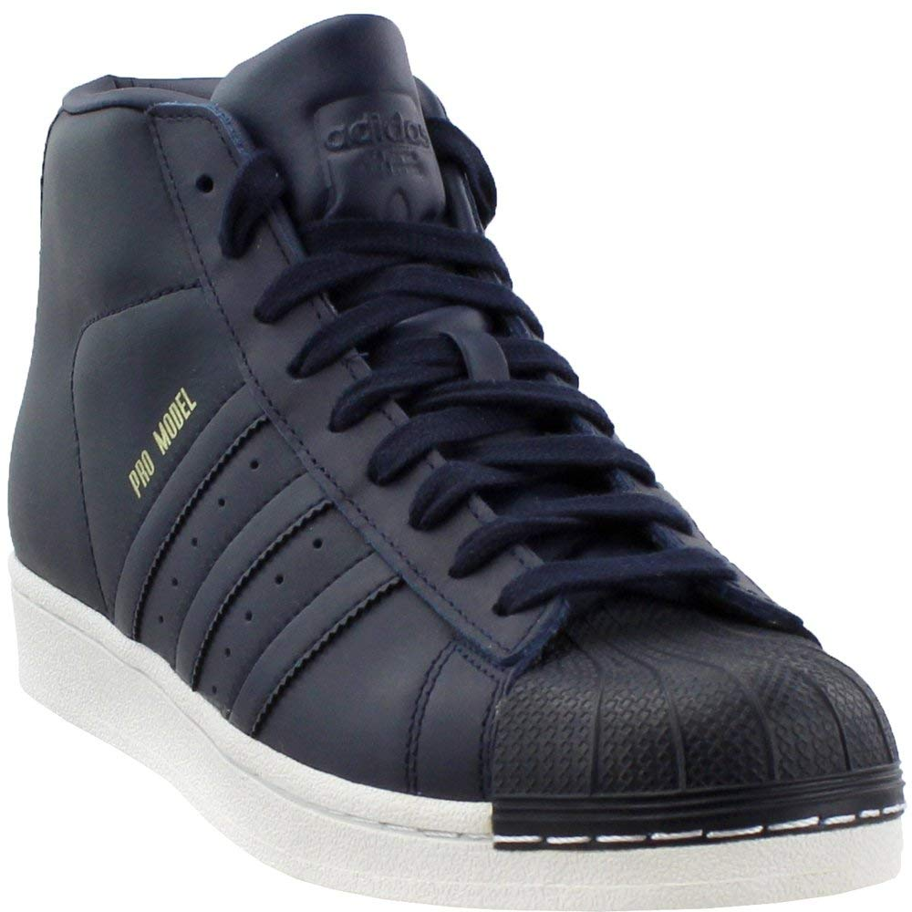Navy Adidas Mens Pro Model Casual Athletic & Sneakers