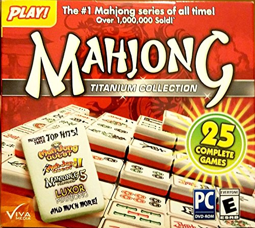 Mahjong: Titanium Collection - 25 Pack