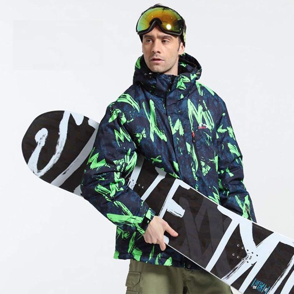 Uiophjkl Giacca da da da Sci Antivento Ski Suit Veneer Double Board Sci Alpinismo Antivento Impermeabile Caldo Sport all'Aria Aperta Giacca Calda Antivento (Coloreee   verde, Dimensione   XL)B07KZXNPJXMedium verde | Design Accattivante  | Acquisti  | Autentic 1abfc0