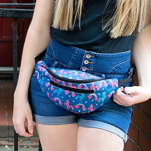 Robemon Women Messenger Pack Bags Bum Decorative Pattern Chest C Bag Fashion Casual Bag Waist 5q6fRS5