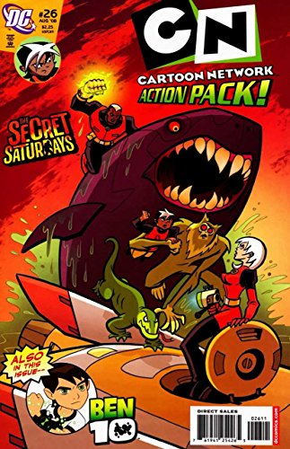 Cartoon Network Action Pack! No. 26; August -