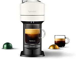 Nespresso by De'Longhi ENV120W Vertuo Next Coffee and Espresso Maker, Machine only, White