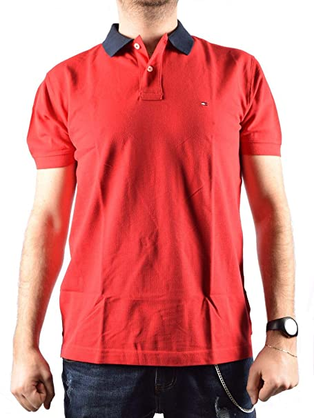 a90d1028b Tommy Hilfiger 1985 Regular Polo Shirt: Amazon.co.uk: Clothing