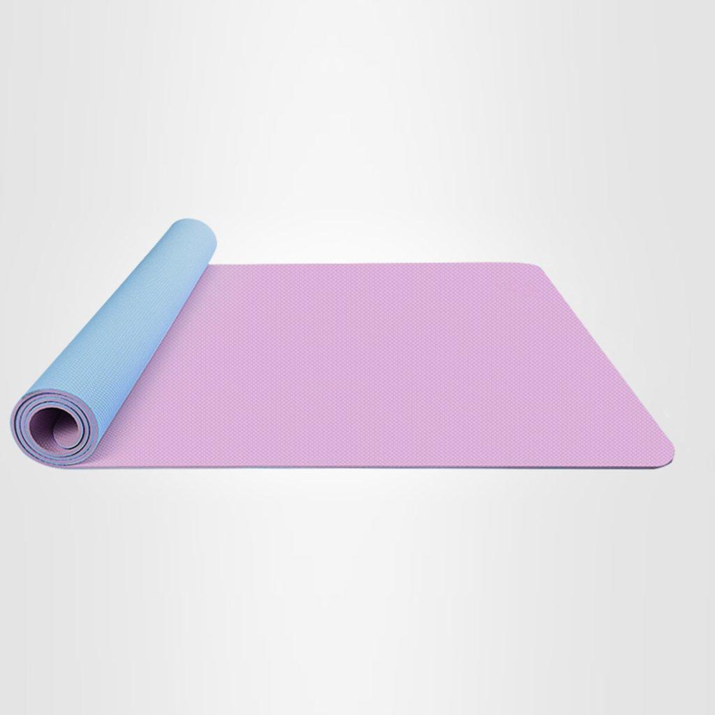 Yoga Matte Dünne Tasche und Gurt Für Frauen und Kinder, Outdoor-Sport-Spielmatte, 6mm