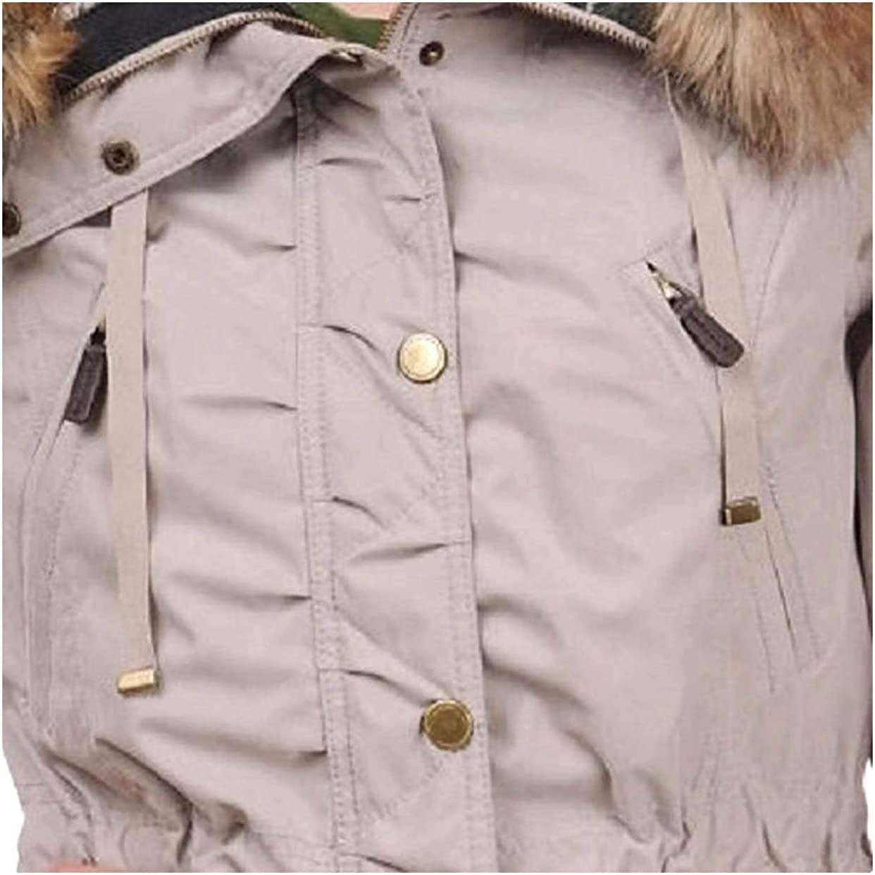 1 Madison Expedition Womens Faux Fur Hooded Parka Jacket
