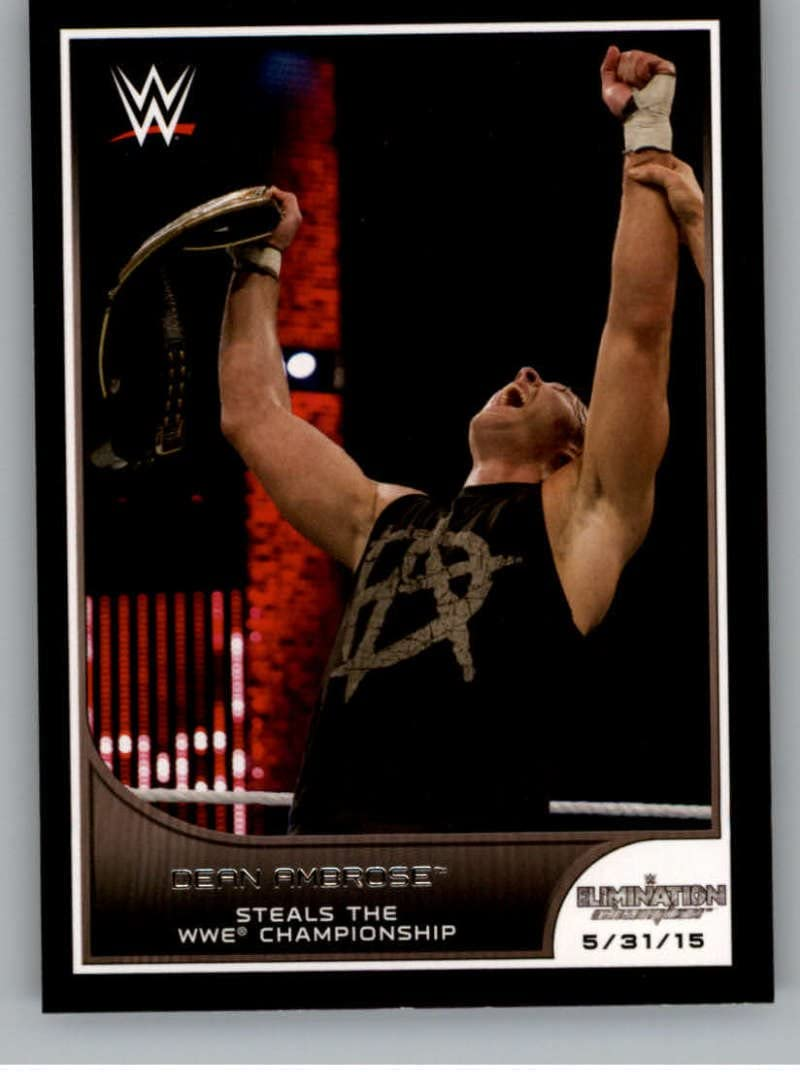 Dean Ambrose #41 WWE Road to combat 2016 TOPPS TRADING CARD