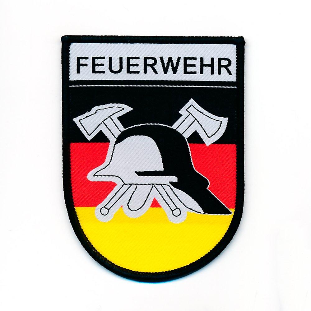 50 x 70 mm Feuerwehr Retten Bergen L/öschen Patch Aufn/äher Aufb/ügler 0783 B