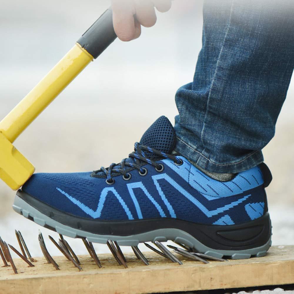 MYXUA Unisex Stahlkopf Arbeitsschuhe Industrie Pannensichere Und Bau Schuhe Pannensichere Industrie Schuhe 9a7094