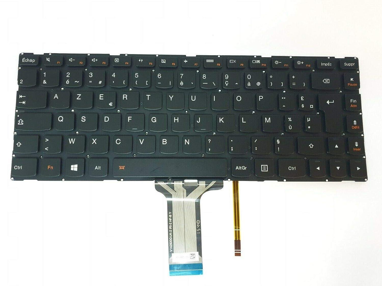 DNX - Teclado francés para Ordenador portátil Lenovo Yoga ...