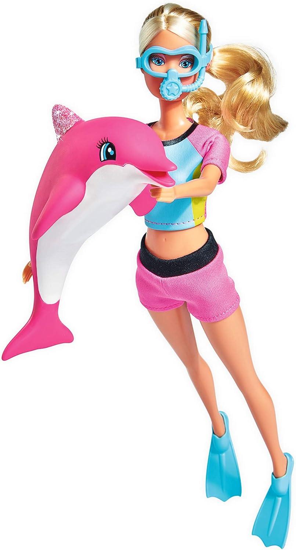 Simba 105733201–Steffi Love Dolphin FUN, muñeca , color/modelo surtido