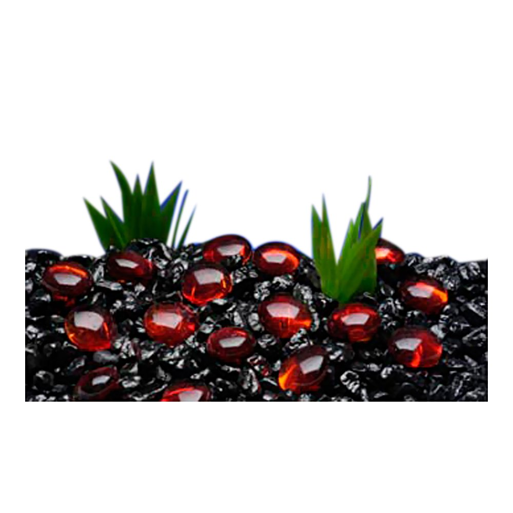 Penn Plax Aquarium Decorative Gem-Stones Red 90 Pcs by Penn Plax