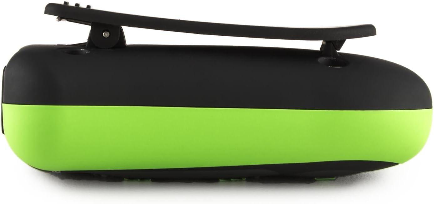auna Hydro 8 wasserdichter MP3-Player 8 GB, 10-13 Stunden Betriebsdauer, IPX-8 Schutzklasse, f/ür Schwimmen + Tauchen + Surfen + Snowboarden + Wandern, Befestigungsclip, Akku schwarz