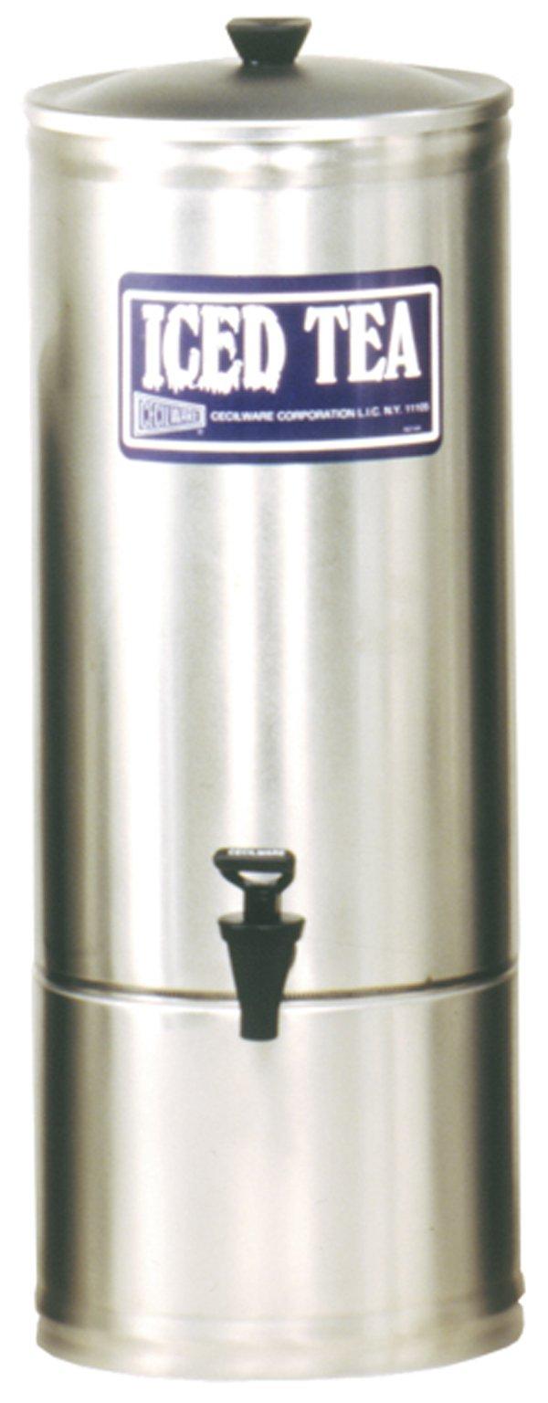 Grindmaster-Cecilware S5 Stainless Steel Iced Tea Dispenser, 5-Gallon