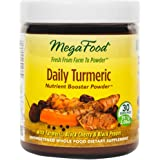 MegaFood - Daily Turmeric Booster Powder, Promotes Healthy Aging & Well-Being, 30 Servings (2.08 oz) (FFP)