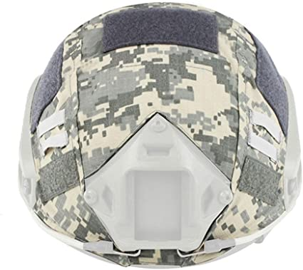 Camo Tactical Airsoft Paintball Military Helmet Cover for Fast Helmet New HD