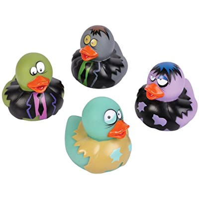 2-inch Zombie Rubber Duckies (Bulk Pack of 12 Ducks): Clothing