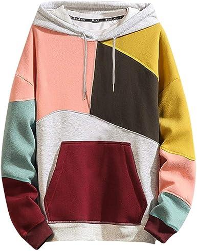 Mens Birds Crest Hooded Sweatshirt Funny Printed Pullover Hoodies Classic Long Sleeve T Shirt Tops
