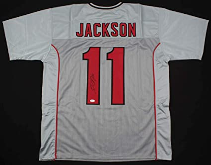 check out 1118d 14451 DeSean Jackson #11 Signed Tampa Bay Buccaneers Jersey (JSA ...