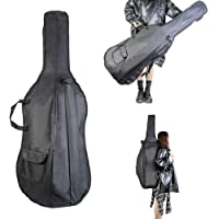 Ktoyols 1/8 Cello Bag Backpack Gig Bag Soft Carry Bag with Shoulder Strap Side Handle Cello Accessories Bow Pockets…