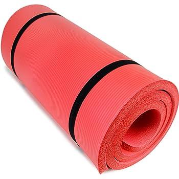 Amazon.com: High Density Extra Thick Padded Yoga Mat - 3/4