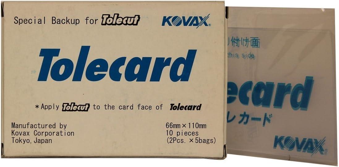 Kovax 10 Tolecard Für Tolecut Streifen 70 X 114 Mm Auto