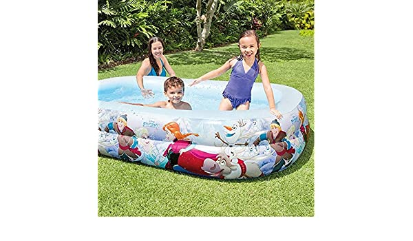 Trade Shop - Piscina Hinchable para niños, diseño de Frozen, 2 ...