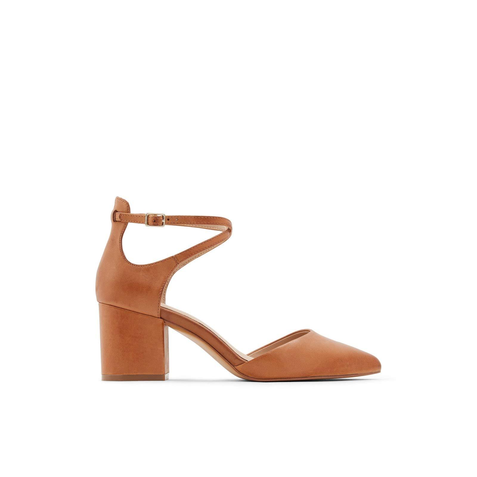 ویکالا · خرید  اصل اورجینال · خرید از آمازون · ALDO Women's Block Heel Pump, Cognac wekala · ویکالا