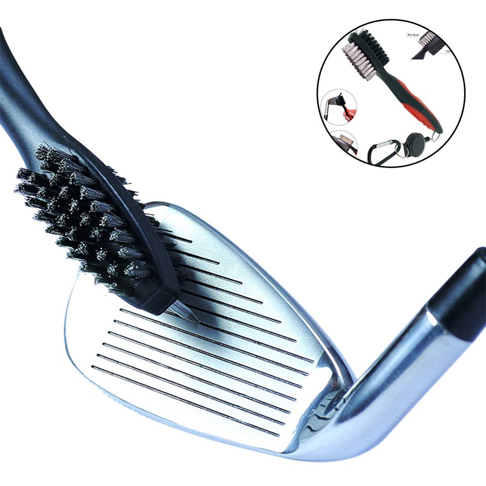 Shanyaid Cepillo de Golf Club Golf Brush Limpieza de Golf ...