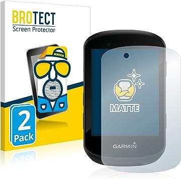 BROTECT Protector Pantalla Anti-Reflejos Compatible con Garmin Edge 530 / Edge 830 (2 Unidades) Pelicula Mate Anti-Huellas: Amazon.es: Electrónica