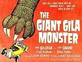 The Giant Gila Monster Half-Sheet Poster Art 1959. Movie Poster Masterprint (28 x 22)