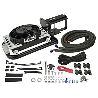 Derale 20561 Jeep Wrangler Direct Fit Automatic Transmission Cooler,Black: Automotive