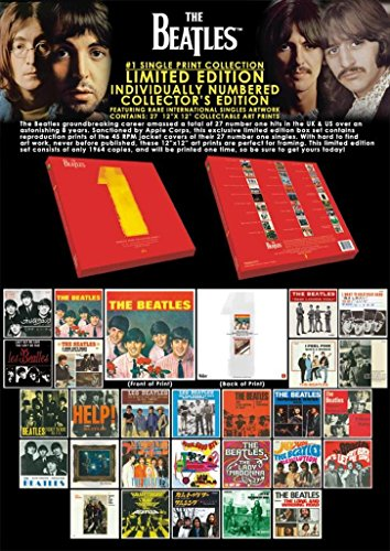 Pyramid America Beatles 1 Limited Edition Collectible Box...
