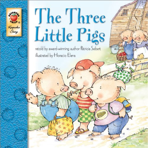 The Three Little Pigs - Classic Children's Book Keepsake Stories, Pre K - 3
