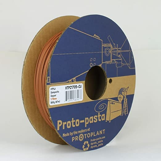 Proto-pasta HTPC1705-CU compuesto HTPLA, cobre: Amazon.es ...
