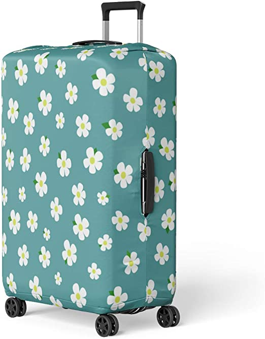 Suitcase Cover Nautical Anchor Luggage Cover Travel Case Bag Protector for Kid Girls