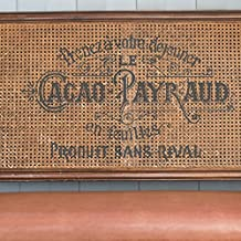Vintage French Label Stencil - Cacao Payraud Furniture Floor Wall Stencil (Large)