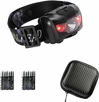 Caving Camping Headlamp 2Pack Witmoving LED Headlamp Torch Head with 3 Light Modes Adjustable Angle Headlamp Flashlight AAA Battery Powered Lightweight Bright Headlamp Running Reading Hiking