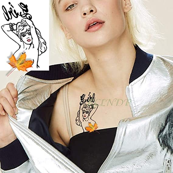 tzxdbh 7 Piezas Impermeables, Tatuaje Temporal, Tatuaje de la ...