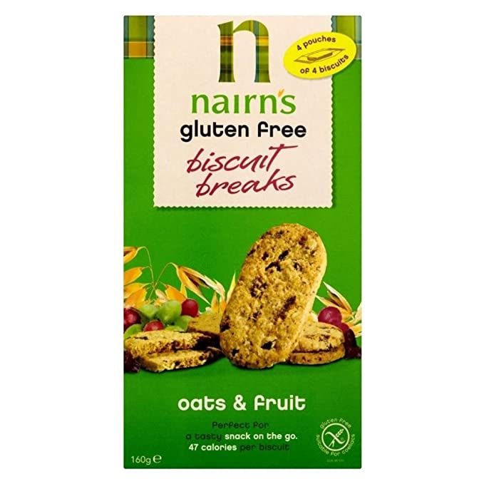 Nairns Roturas De Galletas De Avena Y Fruta - (160g ...