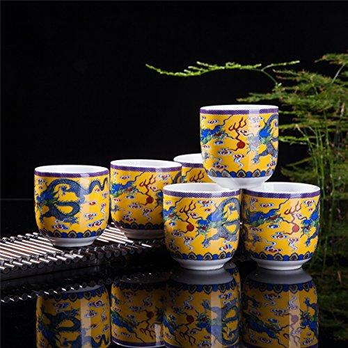yellow tea cup - 7