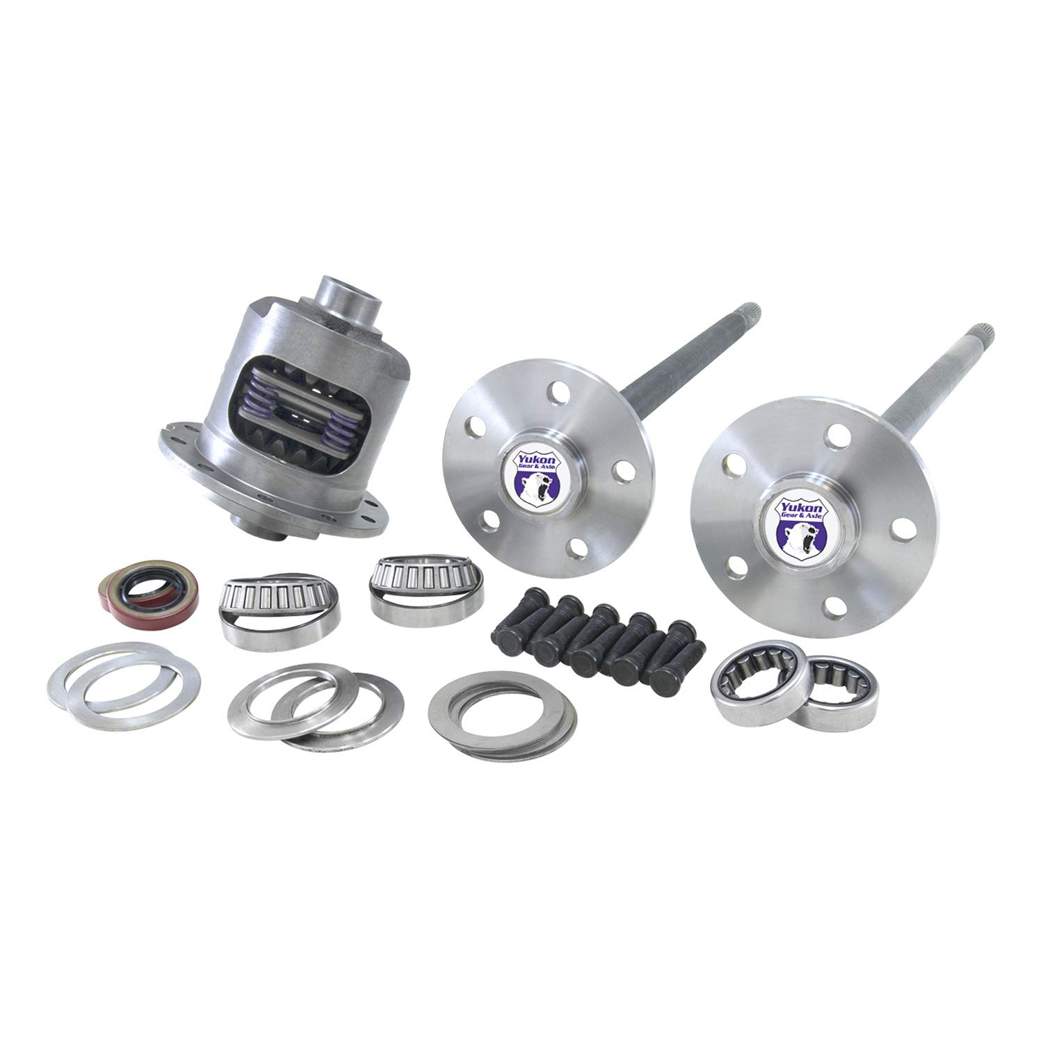 Yukon (YA FMUST-2-31) 5-Lug Axle Kit with DuraGrip Positraction for Ford Mustang 31-Spline Differential