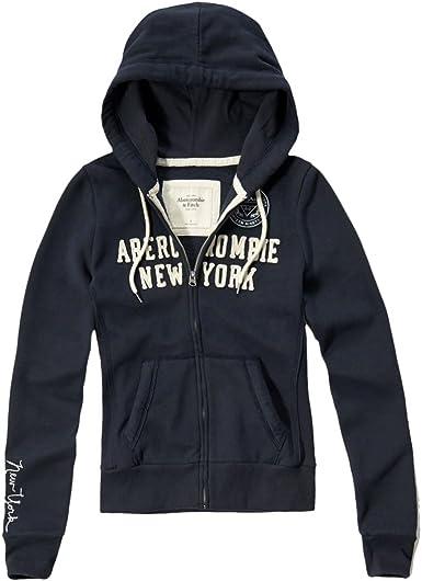 Abercrombie - Femme - Applique Logo Zip Hoodie